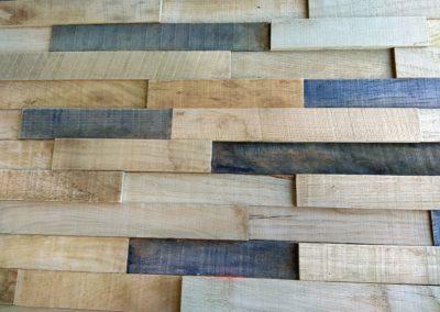 Holzpaneele Harmony - Dark - Als rustikale Wandverkleidung